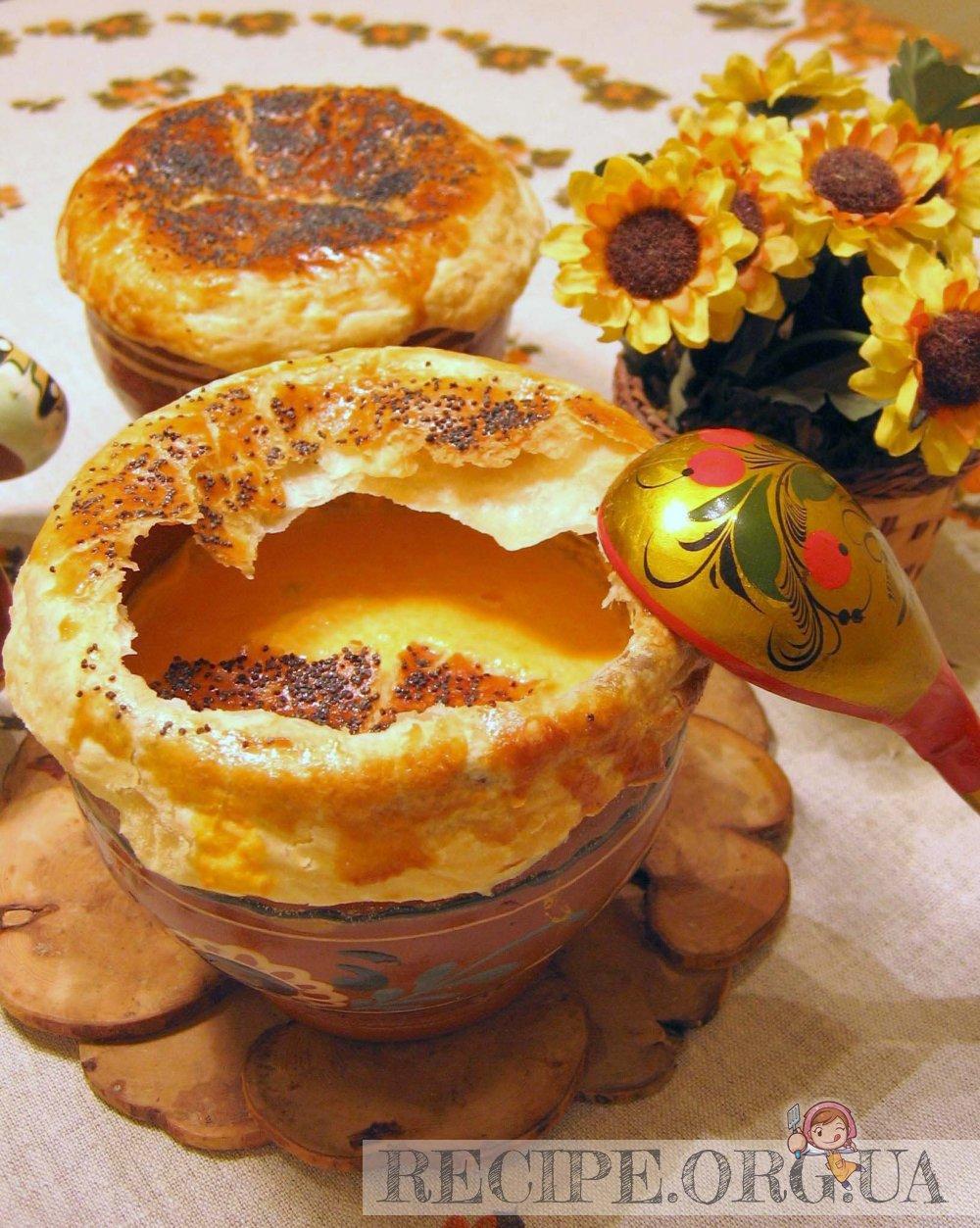суп из тыквы с креветками рецепт с фото