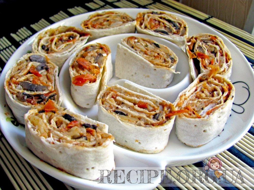 закуски итальянские фото