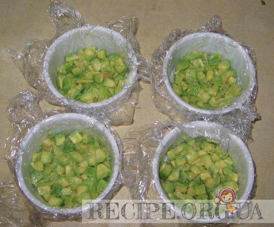 рецепты салатов с авокадо с фото пошагово в