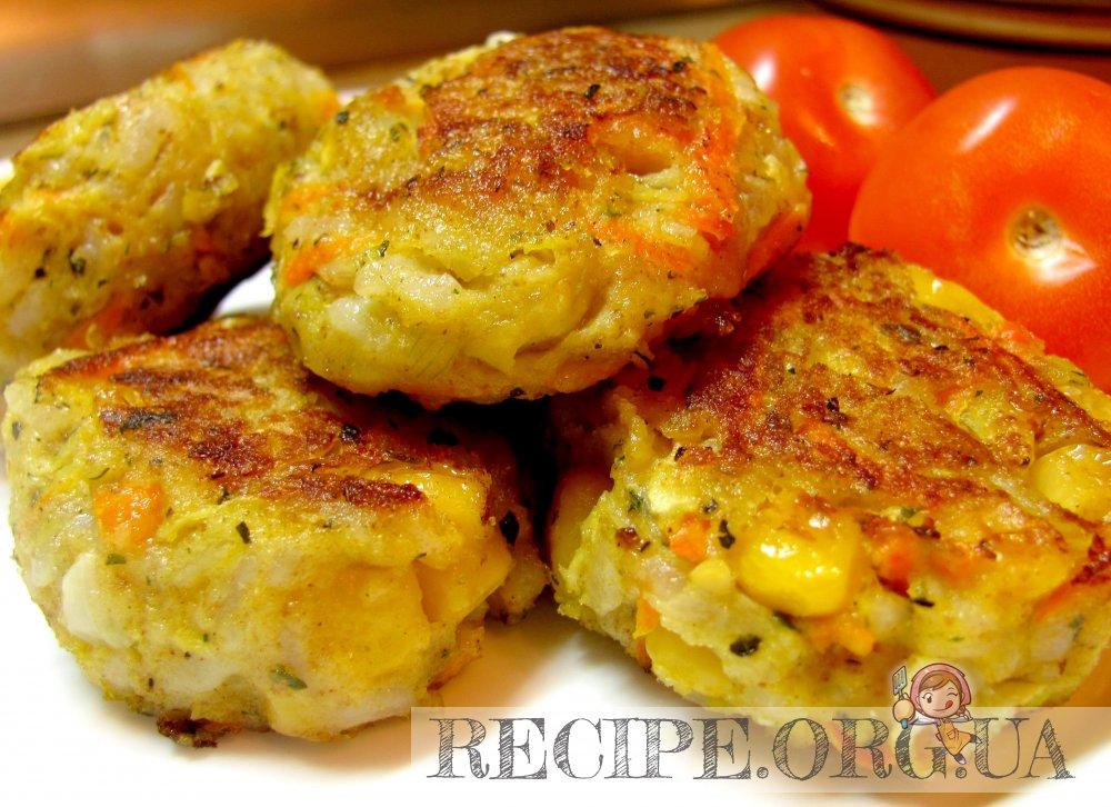 Рецепт Рисово-овощные котлетки с фото