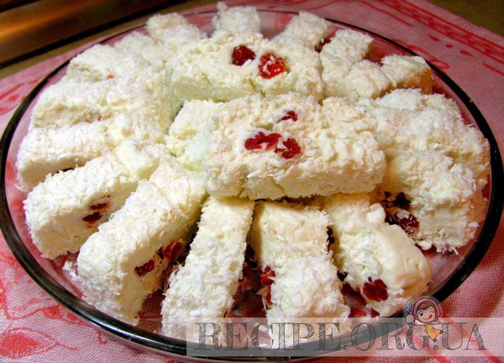 Рецепт Десерт «Белоснежка» с фото