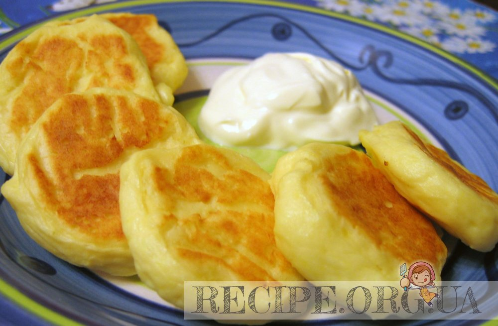 Рецепт Сырники картофельные с фото