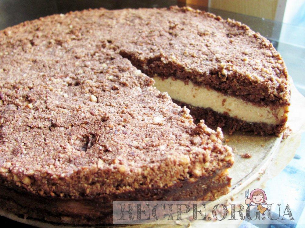 шоколадно банановый торт рецепт с фото