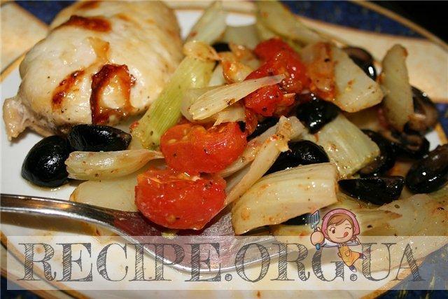 рецепт рыбной пиццы с маслинами