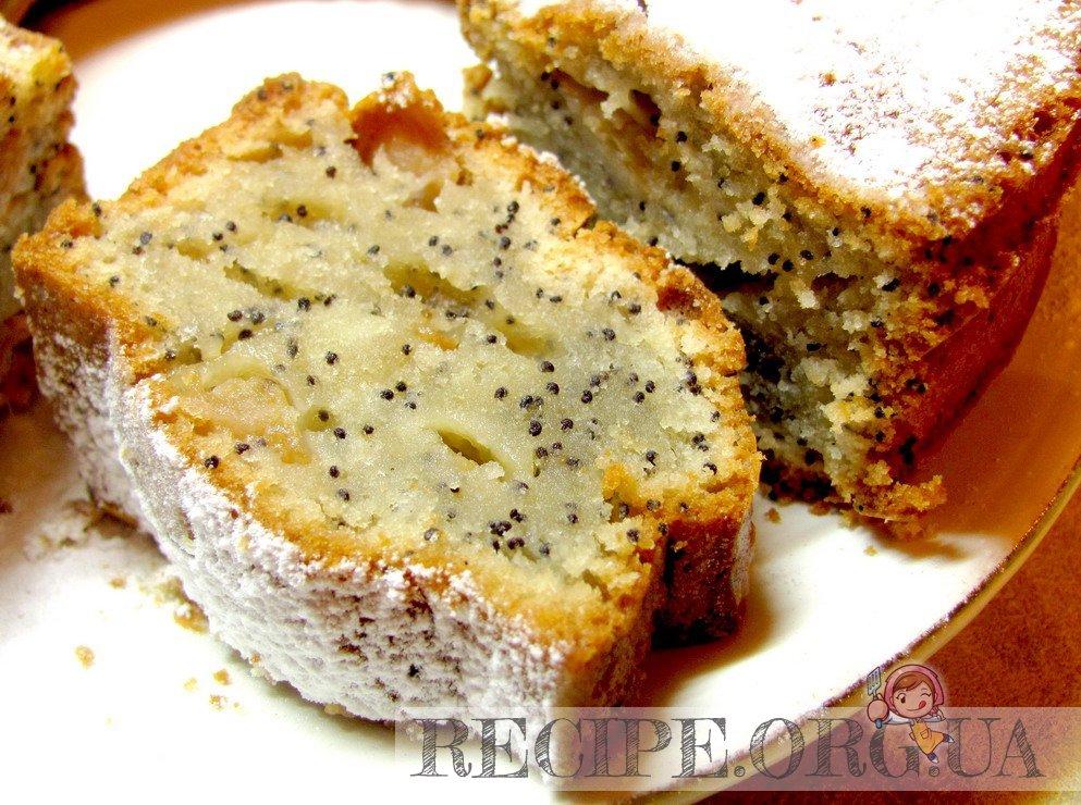 праздничный кекс рецепт с маком