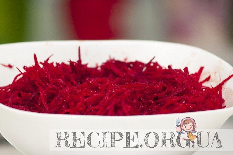 Рецепт с фото - Свекла по-корейски: Натертая свекла