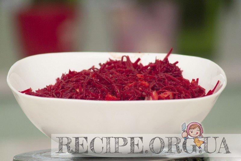 Рецепт с фото - Свекла по-корейски: Заправленная свекла